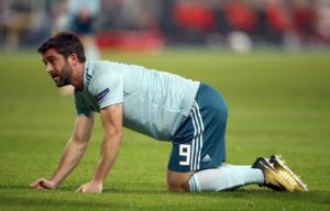 Will Grigg could return to contention for Wigan after recovering from a hamstring injury.