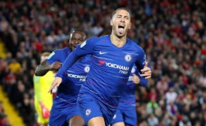 Chelsea forward Eden Hazard has confirmed there has been contact from Paris Saint-Germain in the past but he is not interested.