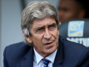 West Ham boss Manuel Pellegrini says Samir Nasri must prove his fitness at the club before he is awarded a deal.