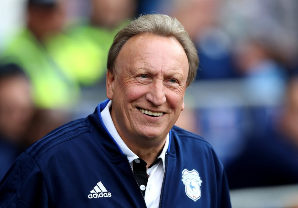 Cardiff City manager Neil Warnock insists his team have continued to improve despite their poor position in the table.