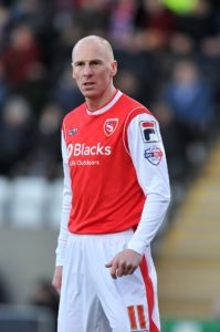 A late goal from veteran Kevin Ellison earned Morecambe a point and denied Notts County a much-needed win.