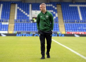 Leigh Griffiths is on course to make his comeback for Celtic after the international break following his return to training this week.