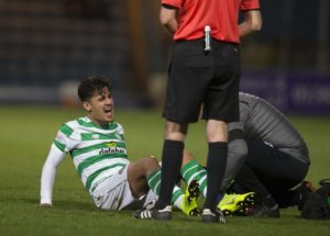 Celtic winger Daniel Arzani admits his season is over after confirming he will need surgery on his damaged knee ligament.