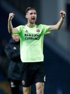 Sheffield United haveChris Basham back from suspension for the Steel City derby against Sheffield Wednesday.