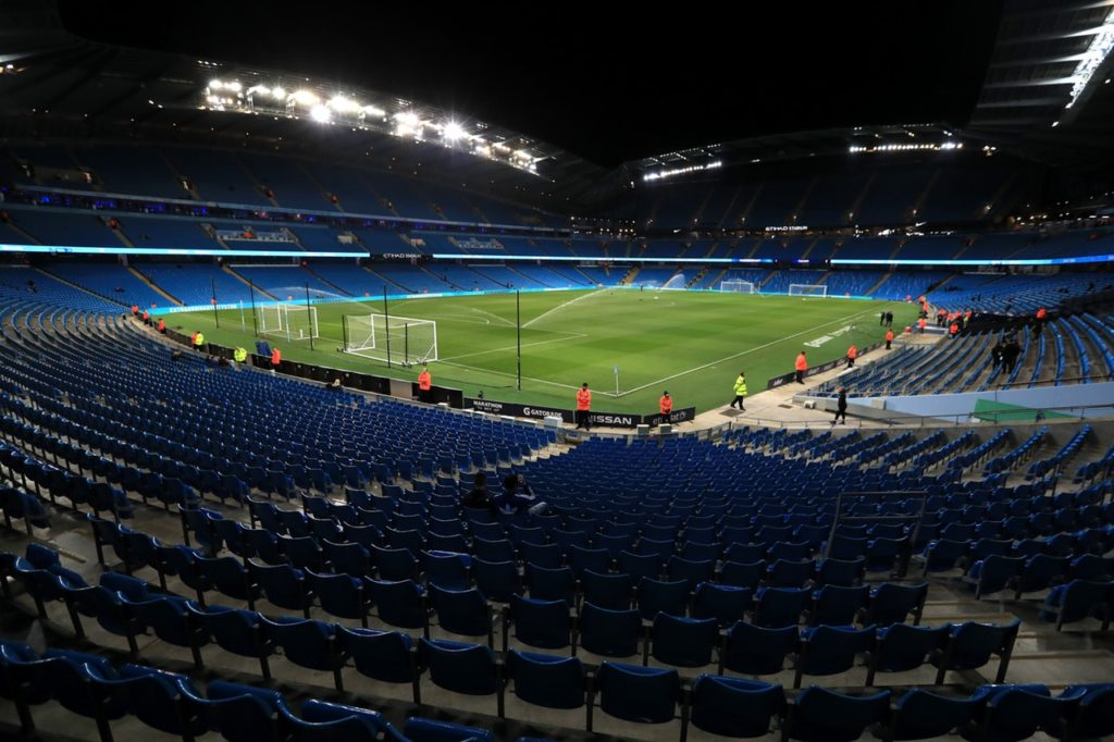Manchester City supporters have been contacted by the club over what they would like to see included in an expanded Etihad Stadium.