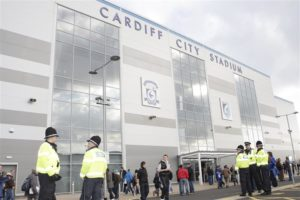 Cardiff chief executive Ken Choo says the club are happy to contribute £250,000 as part of Richard Scudamore's leaving gift.