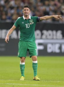 Robbie Keane has announced his retirement from playing in order to concentrate on his job as the Republic of Ireland's assistant boss.