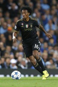 Juventus are expected to leave out Juan Cuadrado and Douglas Costa for the Champions League game with Valencia on Tuesday.