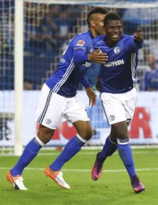 Schalke have been hit by the news attacking duo Mark Uth and Breel Embolo have been sidelined until the new year due to injury issues.