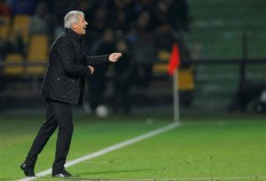 Lucien Favre remained upbeat despite watching Borussia Dortmund slip to a 2-0 Champions League defeat at Atletico Madrid.
