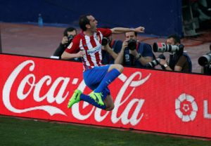 AC Milan are believed to looking to land Atletico Madrid defender Diego Godin on a free deal this summer.