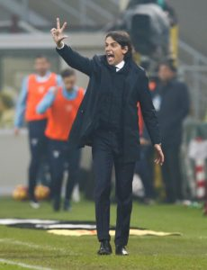 Lazio snatched a late equaliser against AC Milan, but coach Simone Inzaghi felt his side deserved all three points.
