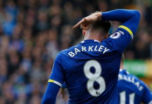Ross Barkley is looking forward to facing Everton but is not expecting a great reception from the away end at Stamford Bridge.