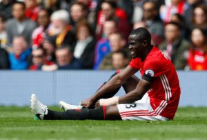 Arsenal are said to have fallen behind rivals Tottenham in the race for Manchester United defender Eric Bailly.