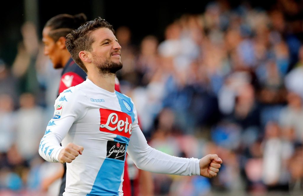 Liverpool have been linked with Napoli striker Dries Mertens - but Manchester United and Paris Saint-Germain are also reportedly keen.