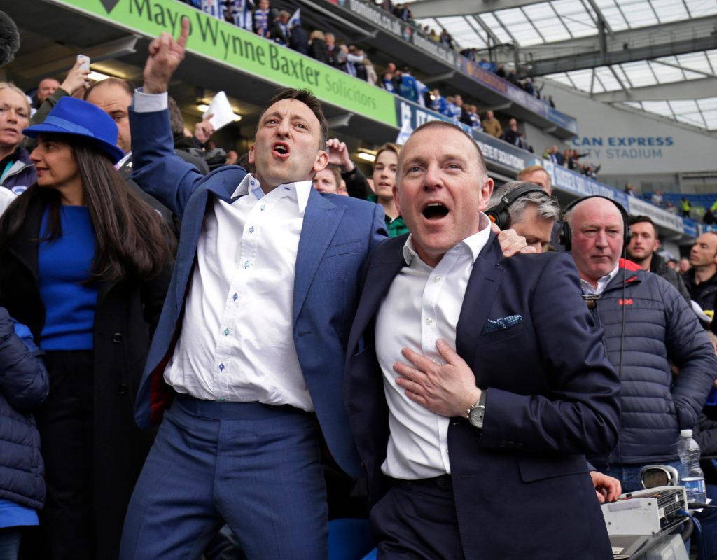 Brighton have announced chief executive Paul Barber has been made deputy chairman of the club.