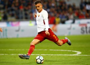 Roma midfielder Lorenzo Pellegrini's agent has rejected talk of a January move to Manchester United.