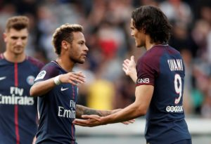 Kylian Mbappe says he is confident Edinson Cavani and Neymar will be fine with each other when they return to Paris Saint-Germain.