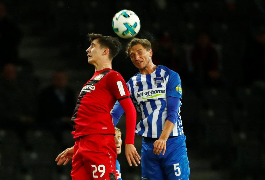 Bayer Leverkusen's Kai Havertz has thanked the German league for allowing him the chance to prove himself at such a young age.