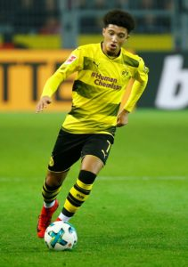 Borussia Dortmund star Jadon Sancho says he is in awe of Marco Reus after his role in their win over Wolfsburg.