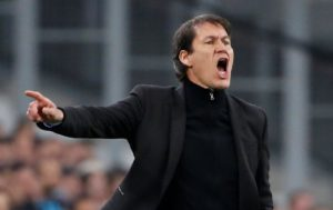 Marseille coach Rudi Garcia described his side's defeat to Lazio as 'cruel and undeserved' as they crashed out of the Europa League.