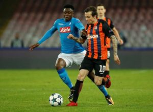 Napoli have slapped a £43.5million price tag on the head of key midfielder Amadou Diawara as interest starts to grow.