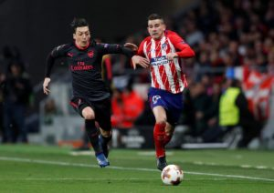 Atletico Madrid have confirmed defenders Lucas Hernandez and Jose Maria Gimenez are set for a spell on the sidelines due to injury.