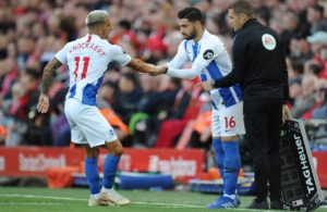 Brighton winger Alireza Jahanbakhsh hopes the injury he sustained in the defeat to Everton on Saturday is 'nothing serious'.