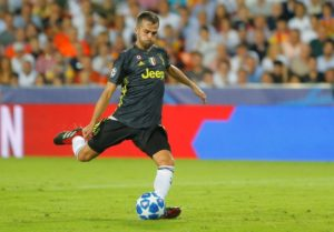 Miralem Pjanic is an injury concern for Juventus after the midfielder picked up a problem whilst on international duty.