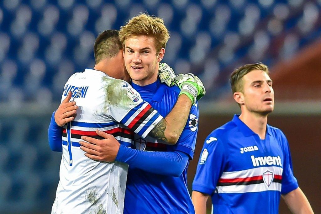 Manchester United sent four scouts to watch Sampdoria centre-back Joachim Andersen on Sunday, according to reports in Italy.