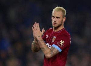 Marko Arnautovic says he is fully focused on West Ham and has dismissed speculation linking him with a move away from the club.