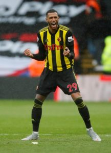 Watford manager Javi Gracia has piled the praise on Etienne Capoue after claiming he is one of the best midfielders in the league.