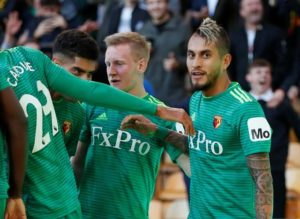 Watford midfielder Roberto Pereyra says he is happy to hear of reported interest from Chelsea.