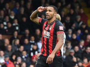 Bournemouth's Callum Wilson has received his first call-up to the England squad ahead of the games with the United States and Croatia.