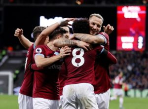 Manuel Pellegrini's criticism of Felipe Anderson paid off as he inspired West Ham to a 4-2 win over Burnley.