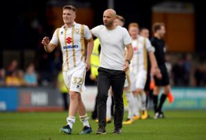 Rhys Healey is not worrying whether his MK Dons form will earn him a Premier League chance with Cardiff.