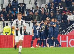 Manchester United scored twice in the final four minutes as they came from behind to stun Juventus 2-1 in Champions League Group H.