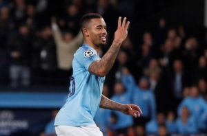 Gabriel Jesus scored a hat-trick as Manchester City thrashed Shakhtar Donetsk 6-0 in Champions League Group F at the Etihad Stadium.