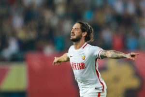 Alexandre Pato insists he isn't looking to move on from Tianjin Quanjian amid reports of a potential return to AC Milan.