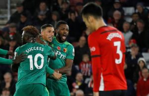 Southampton wasted a host of chances before Watford grabbed a late equaliser as Mark Hughes' side were held to a 1-1 draw at St Mary's.