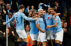 Manchester City were too strong for their nearest neighbours in a 3-1 derby-day success.