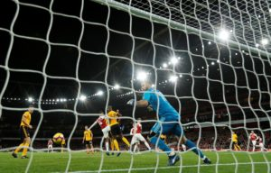Henrikh Mkhitaryan fortuitously rescued a point for lacklustre Arsenal at the Emirates.