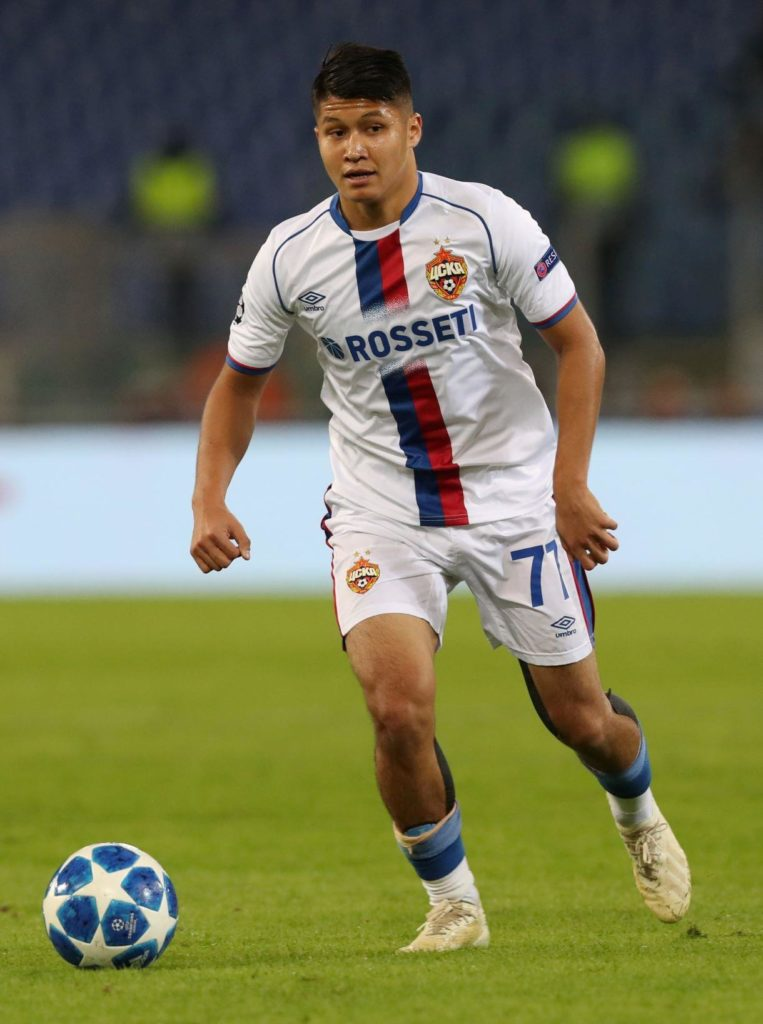 Arsenal are tracking 20-year-old CSKA Moscow midfielder Ilzat Ahkmetov, having watched him twice in the past week.