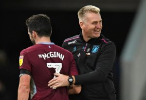 Aston Villa will be assessing John McGinn's fitness after injury forced him to withdraw from the Scotland squad.