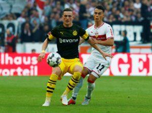 VfB Stuttgart midfielder Erik Thommy says training this week has been tough as the Bundesliga strugglers eye improvement.