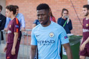 Manchester City teenager Rabbi Matondo has been handed his first call-up for Wales in Tuesday's friendly with Albania.