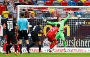 Fortuna Dusseldorf's Micheal Rensing says his side need to be 'bold and courageous' when they travel to Bayern Munich on Saturday.