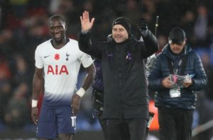 Tottenham's Moussa Sissoko believes his hard work is paying off as he continues to grow into the side.