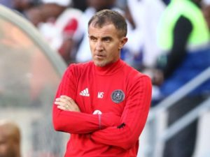 Milutin Sredojevic believes Orlando PIrates can still qualify for the CAF Champions League group stages, despite being held to a goalless draw by African Stars.