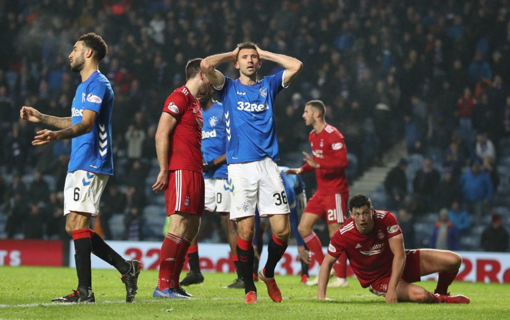 Rangers defender Gareth McAuley has told his team-mates they must bounce back quickly from their midweek defeat to Aberdeen.